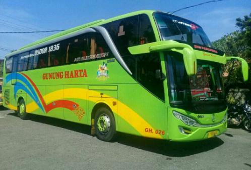 Jadwal Keberangkatan Dan Harga Tiket Bus Gunung Harta Terbaru